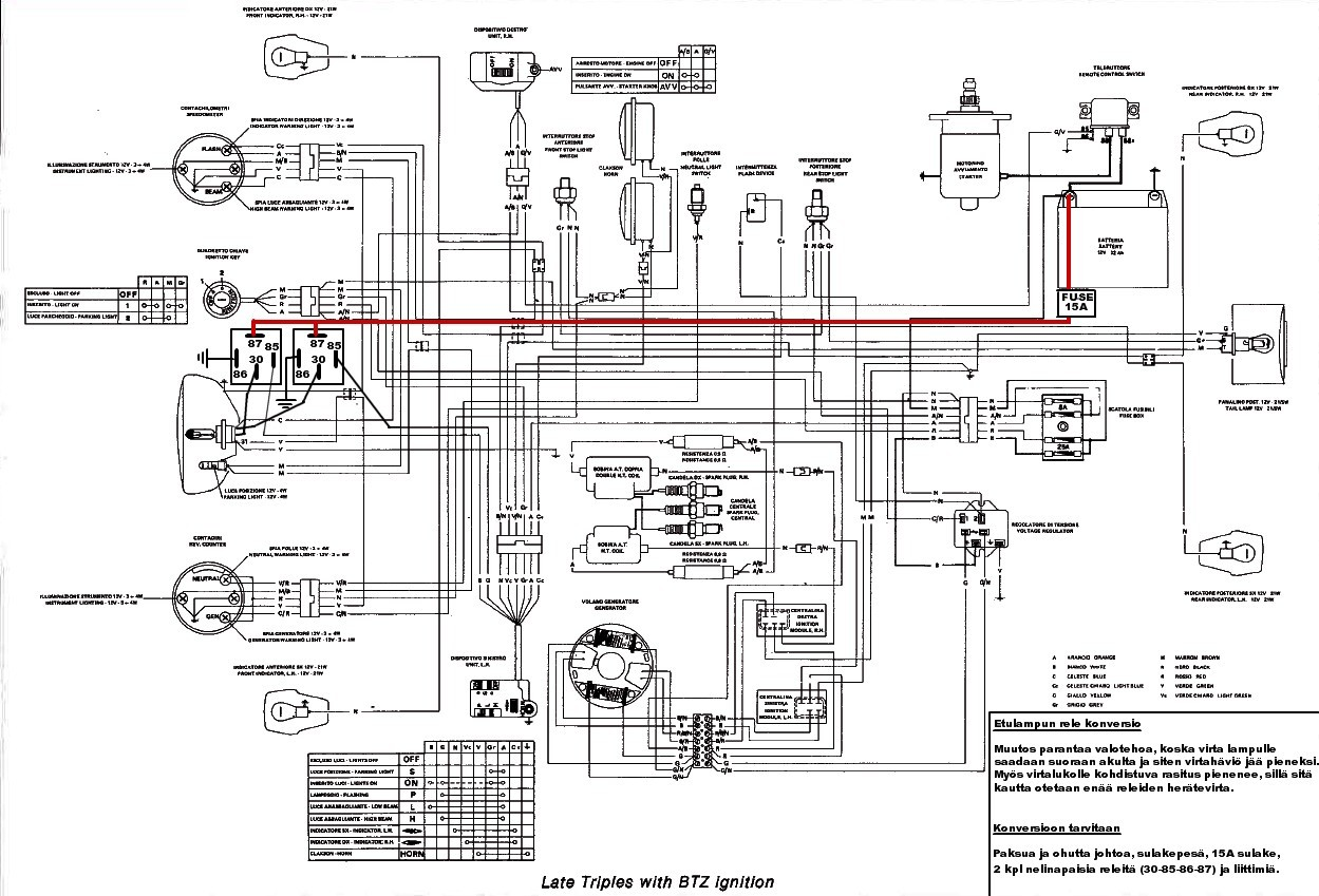 etuvalo konversio headlight relay mod wiring diagram for 3cl jota? triumph sprint st 1050 wiring diagram at gsmportal.co
